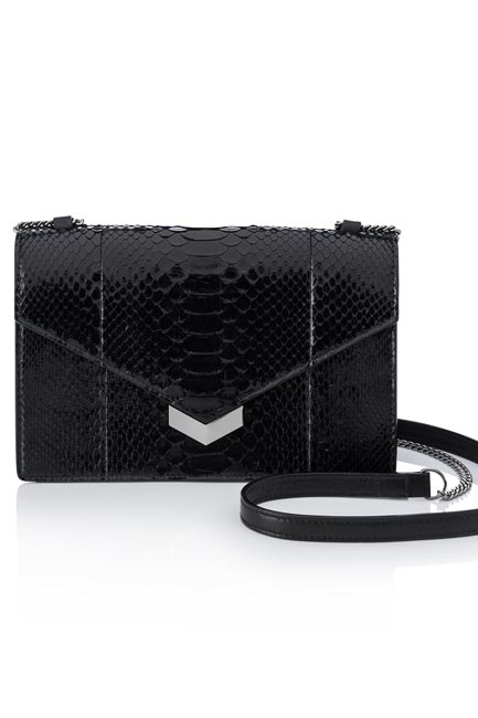 Leather Sling Bag, Jimmy Choo, price on request