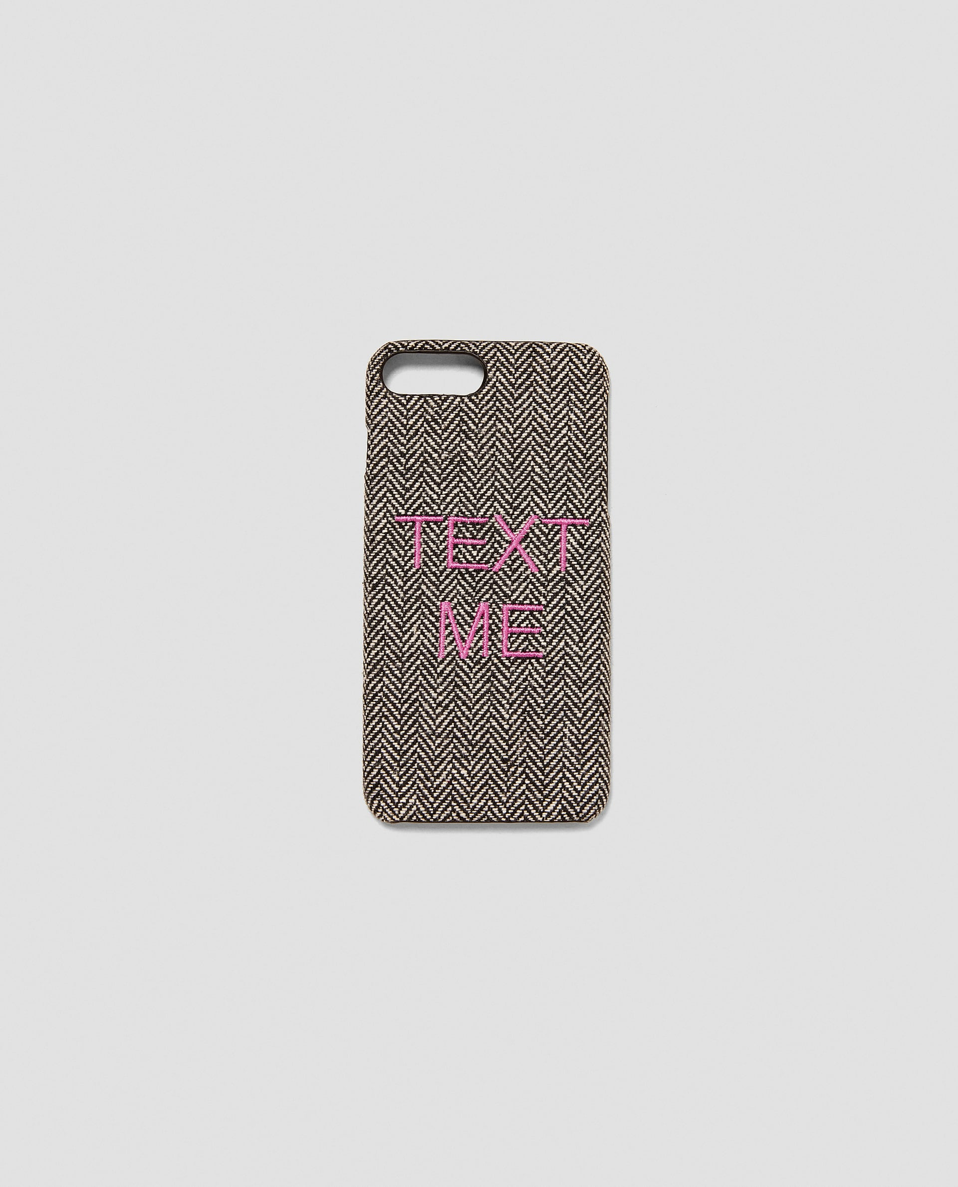 MOBILE PHONE CASE WITH SLOGAN Details âÂÂ'¹ 990.00