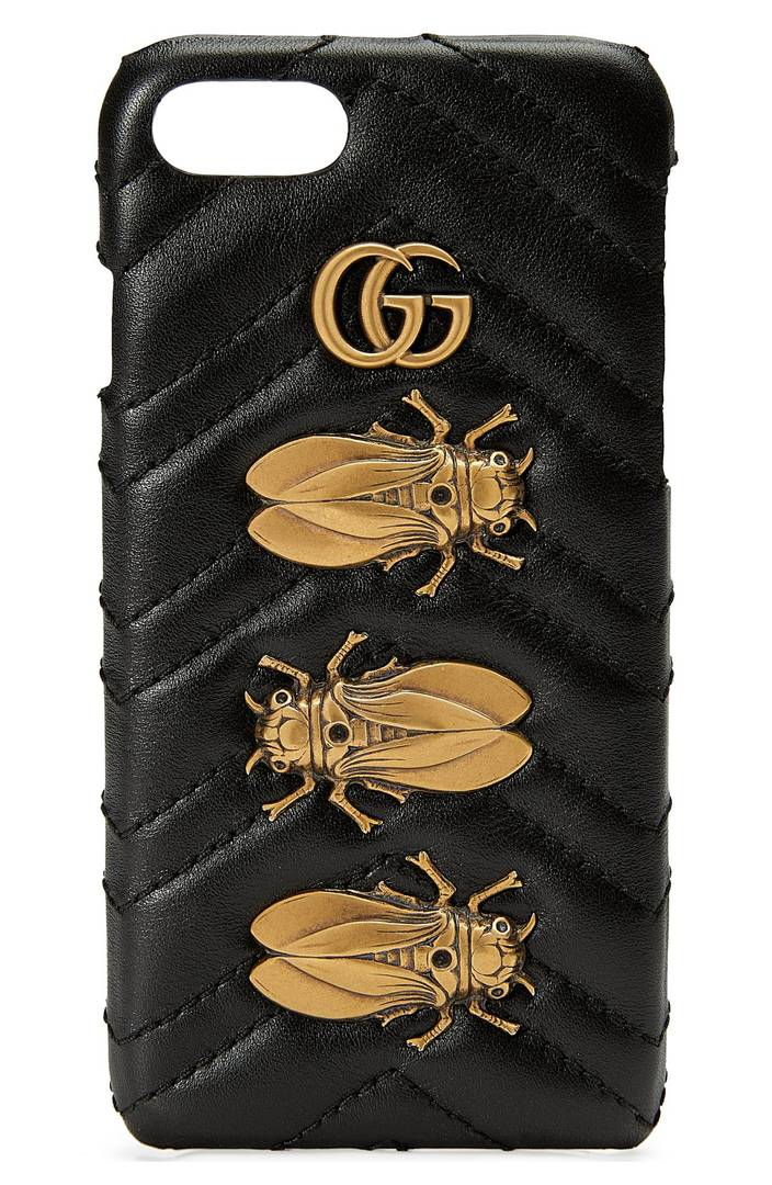 GG Marmont 2.0 Matelassé Leather iPhone 7 Case