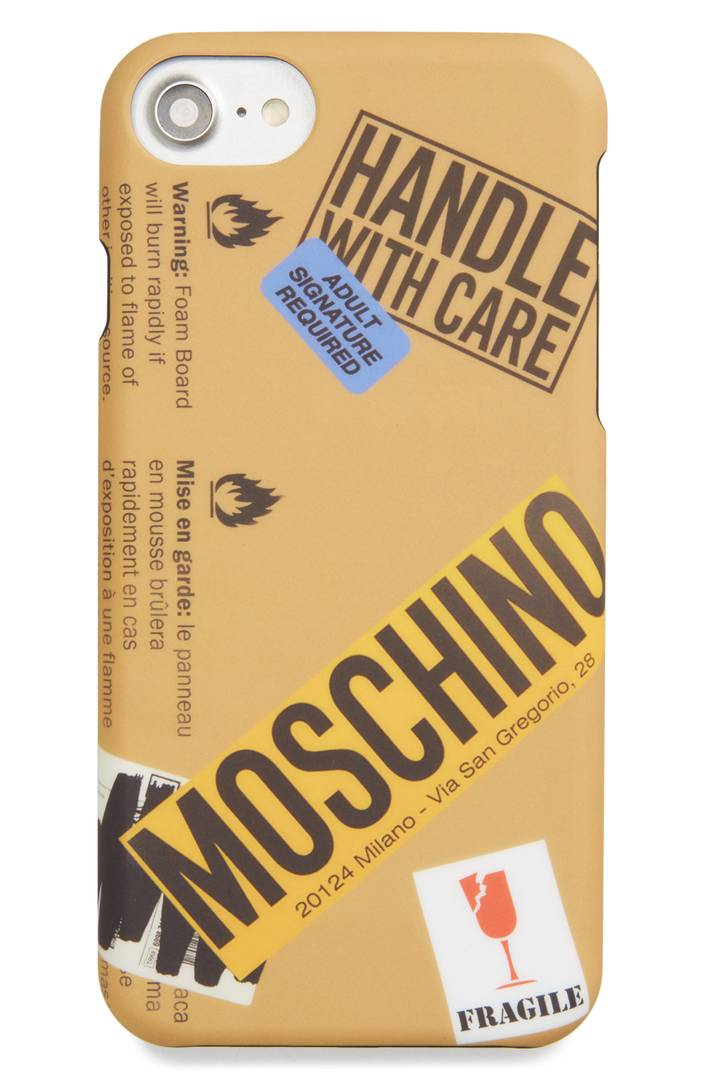 Package iPhone Case MOSCHINO