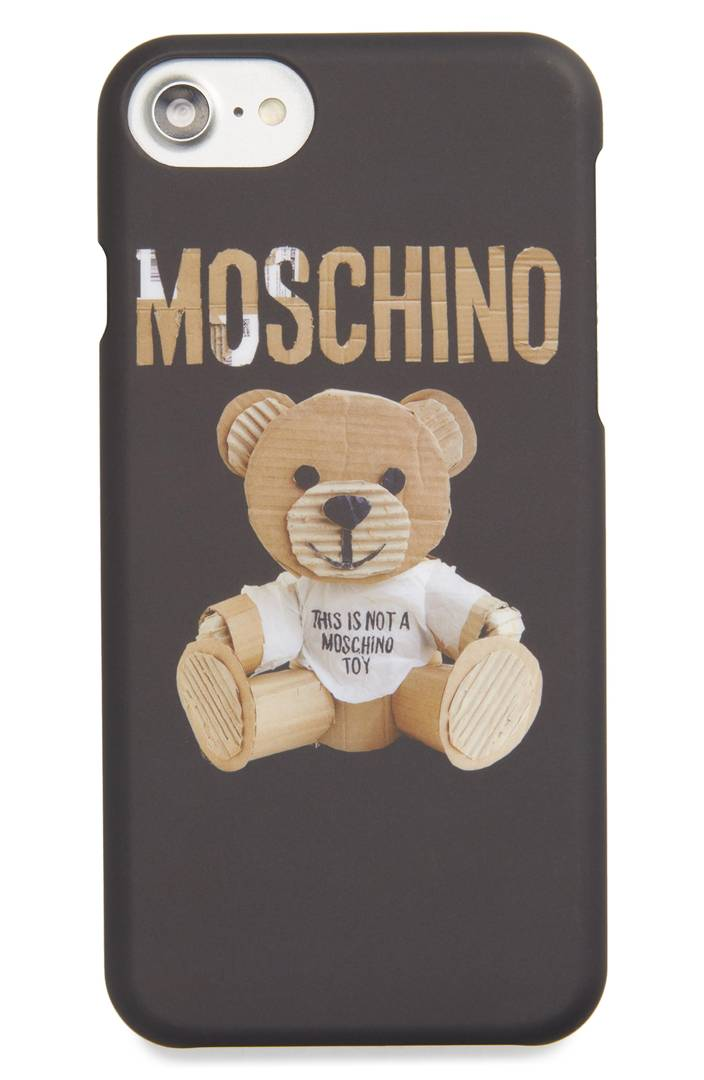 Bear Tape iPhone Case MOSCHINO