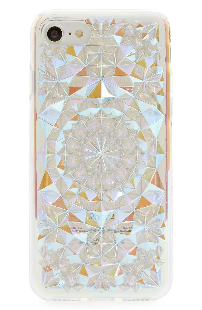 Clear Cosmic Kaleidoscope iPhone 7/8 & 7/8 Plus Case FELONY CASE