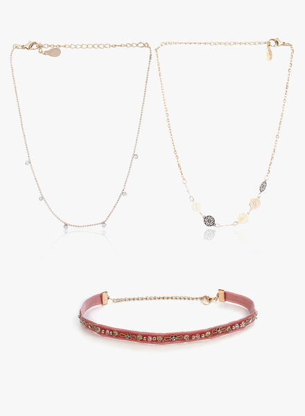 Accessorize - Pink Choker Necklace
