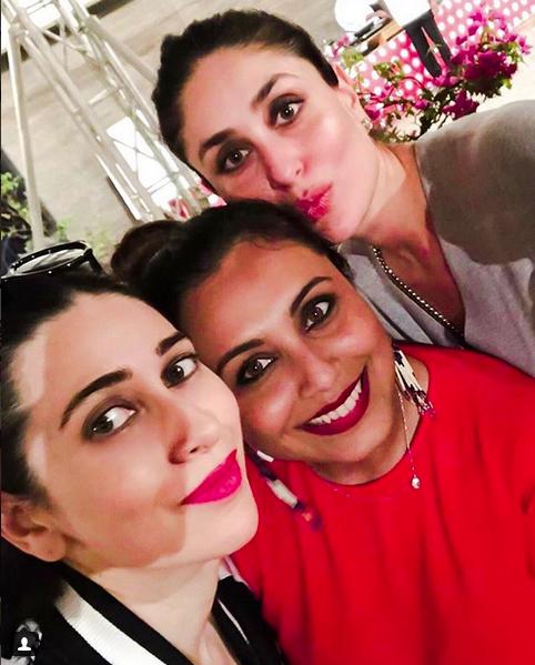 Karishma, Rani and Kareena
