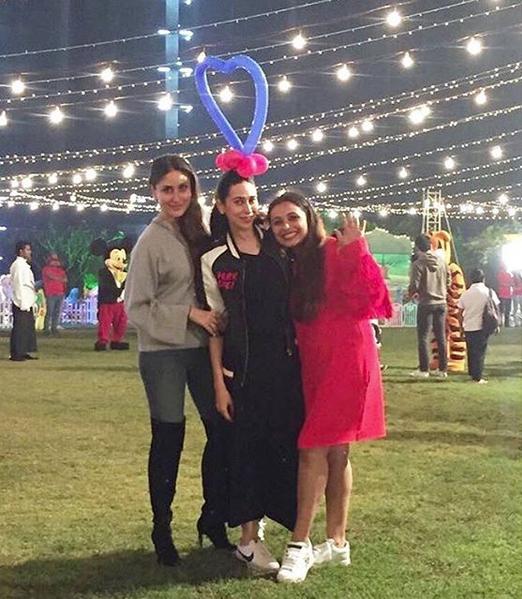 Kareena, Karishma and Rani