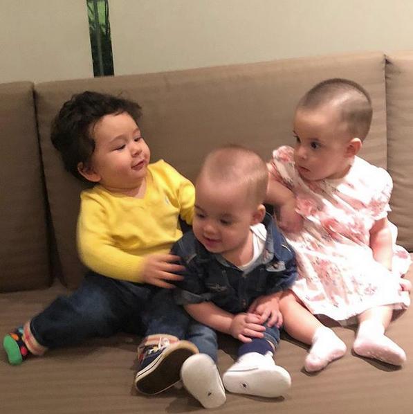 Taimur, Roohi and Yash