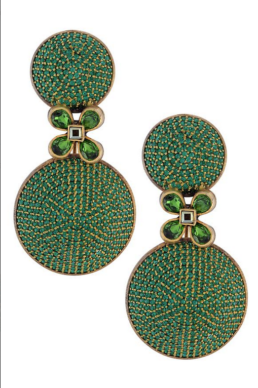 Swarovski encrusted Tribe Amrapali Earrings