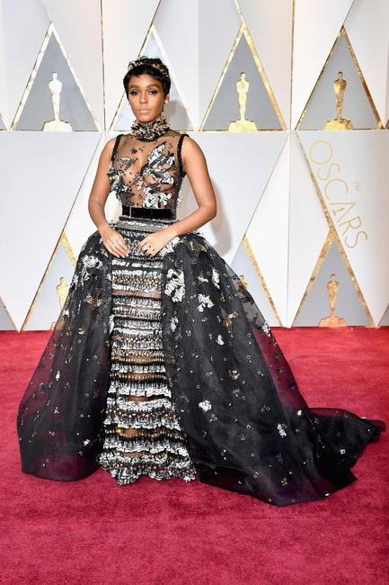 Janelle Monáe in Elie Saab and Forevermark Diamonds