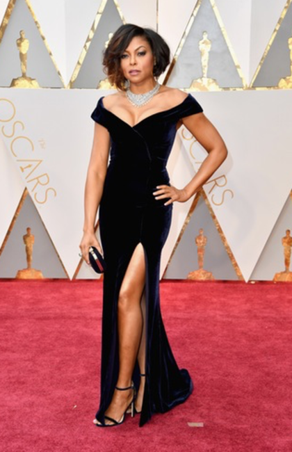 Taraji P. Henson in Alberta Ferretti and Nirav Modi jewels