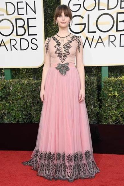 Felicity Jones In Gucci