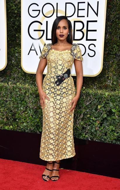 Kerry Washington in Dolce and Gabbana