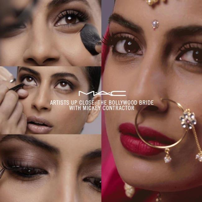 MAC's Bollywood Bride