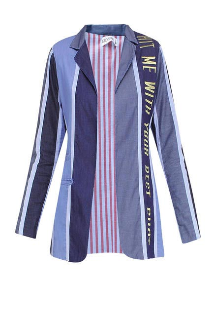 Up-cycled blazer, Grassroot by Anita Dongre, INR6990