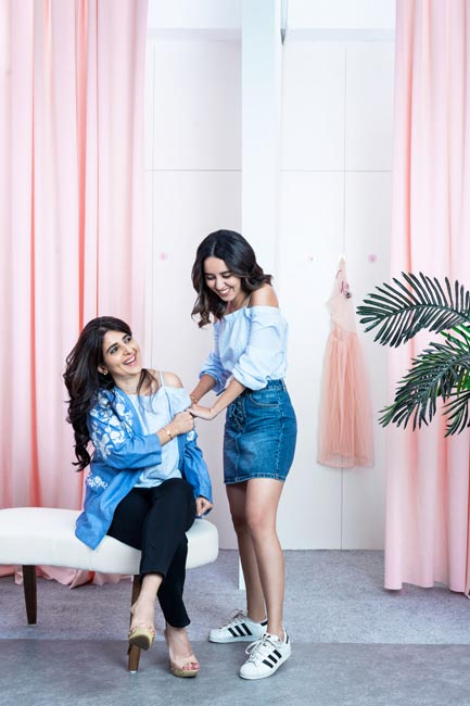 Anita and Anushka Mulchandani