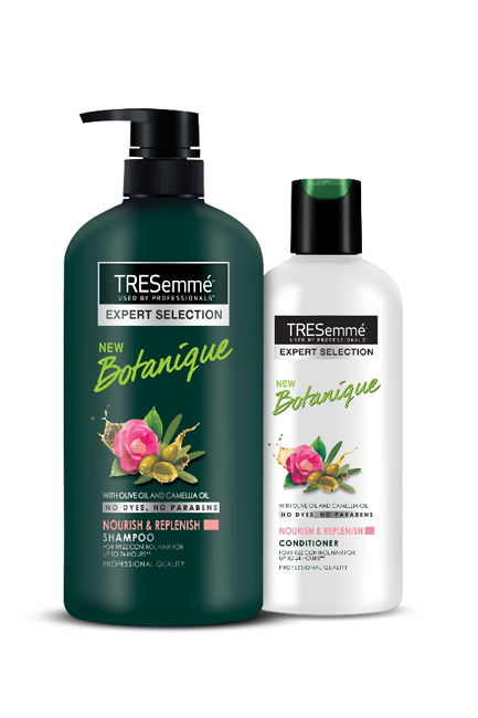 TRESemme Nourish & Replenish Shampoo, Rs. 378; TRESemme Nourish & Replenish, Rs. 187