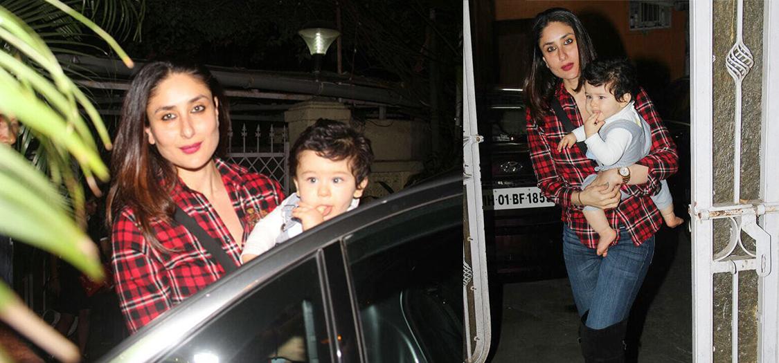 Spotted: Kareena Kapoor Khan With Taimur   Grazia India