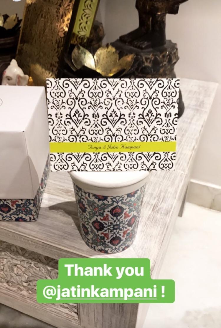 Sonam Kapoor Diwali Gifts