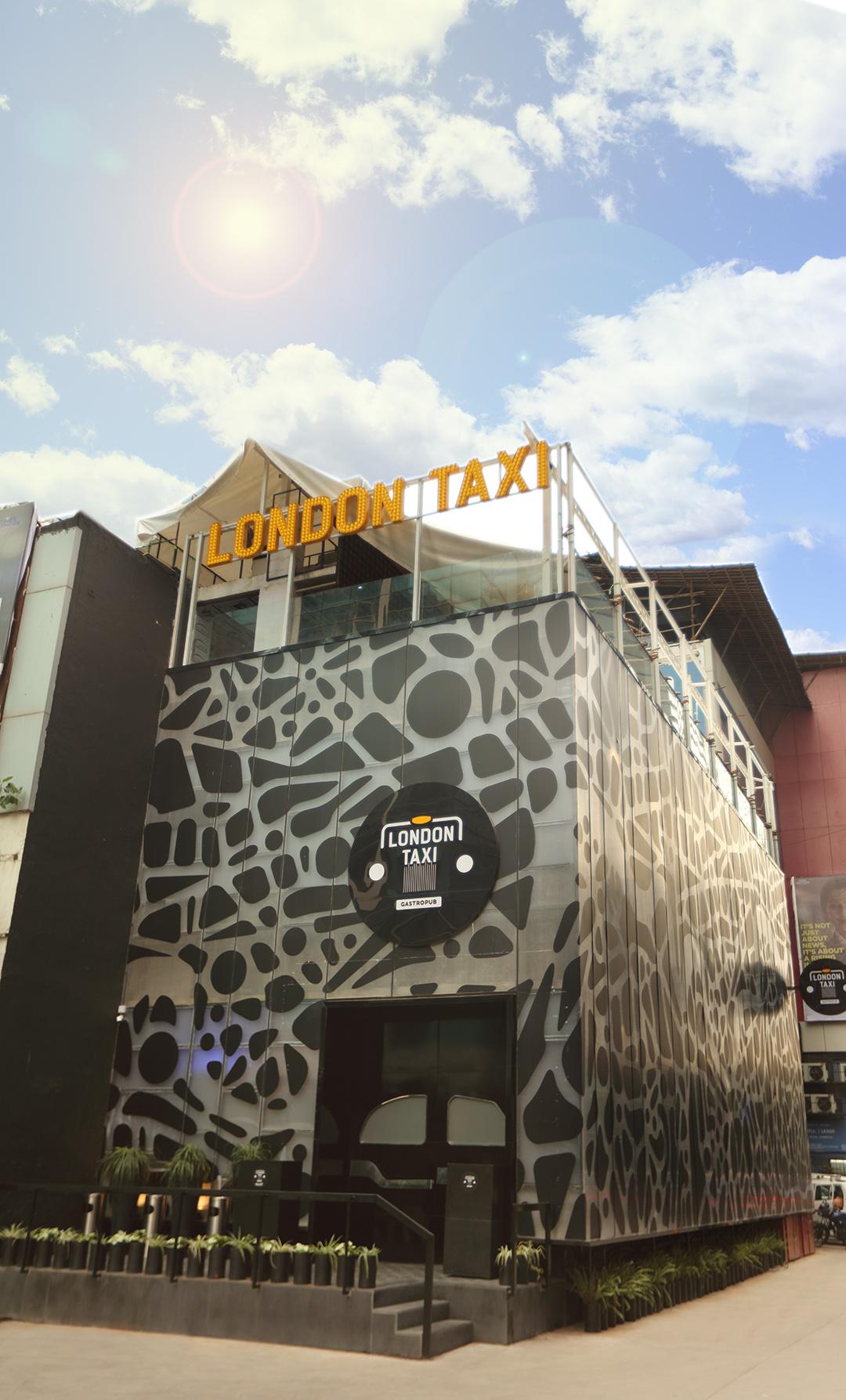 london taxi exteriors