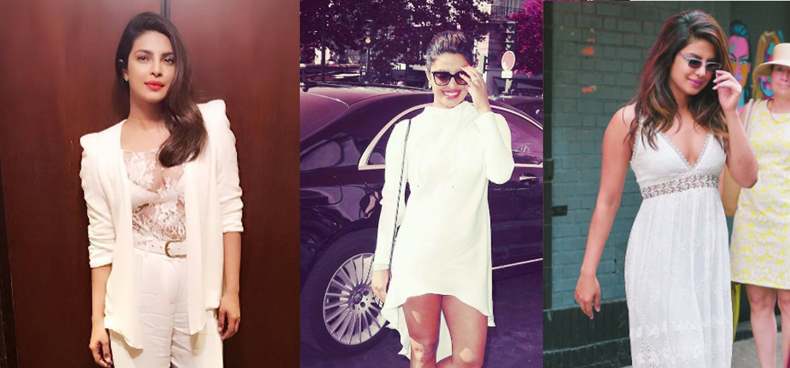 Priyanka Chopra's Style 101 On How To Wear White | Grazia India