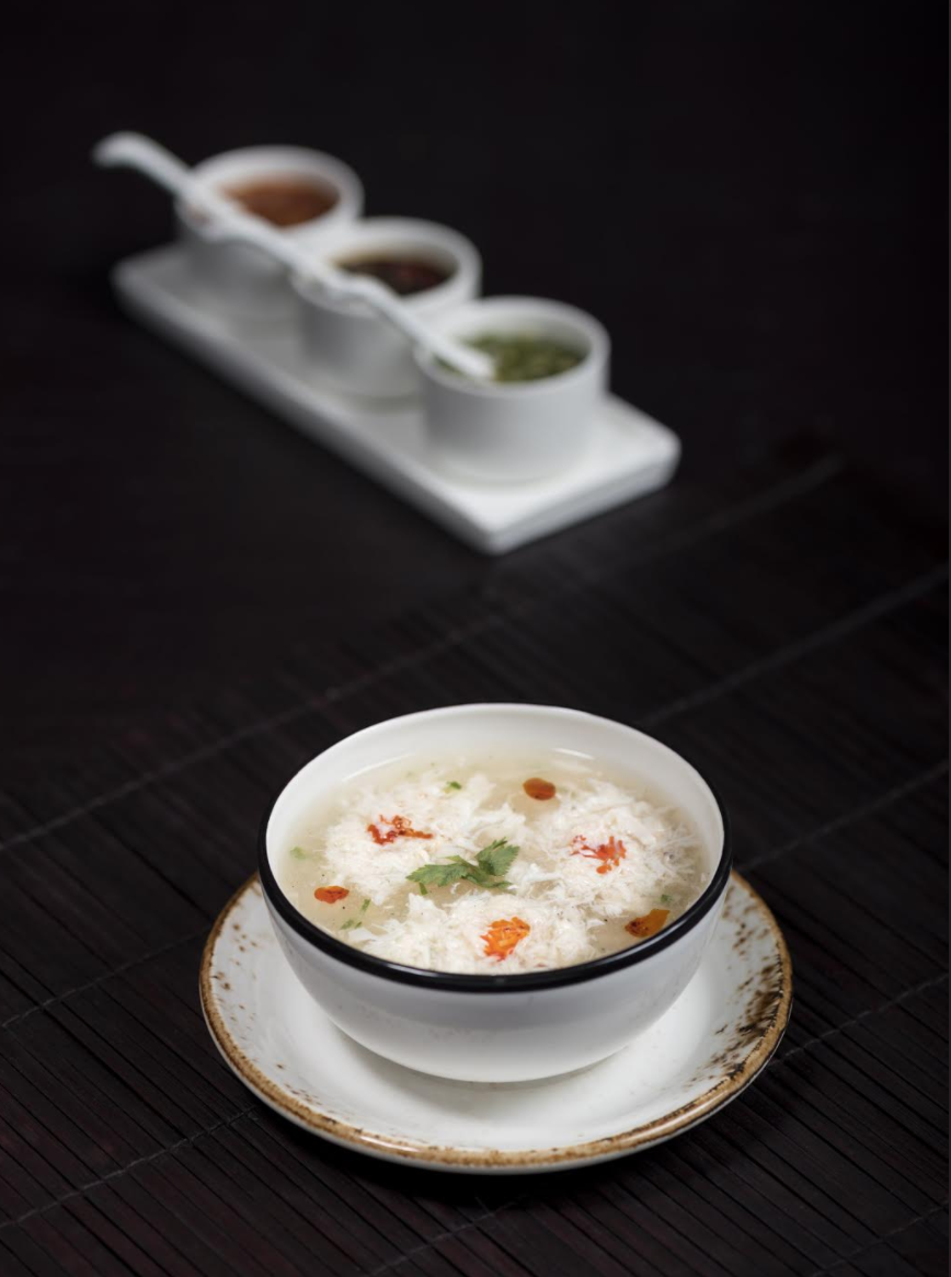 Spicy Crabmeat Soup