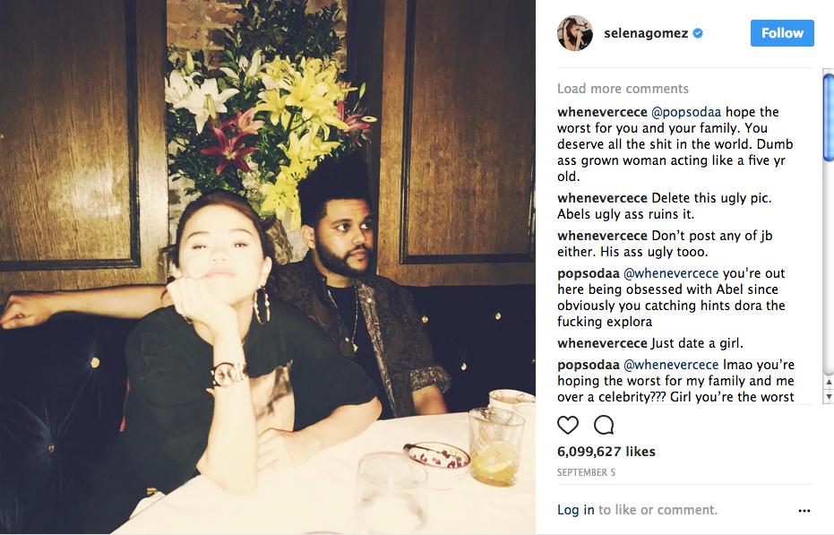 Selena and Abel