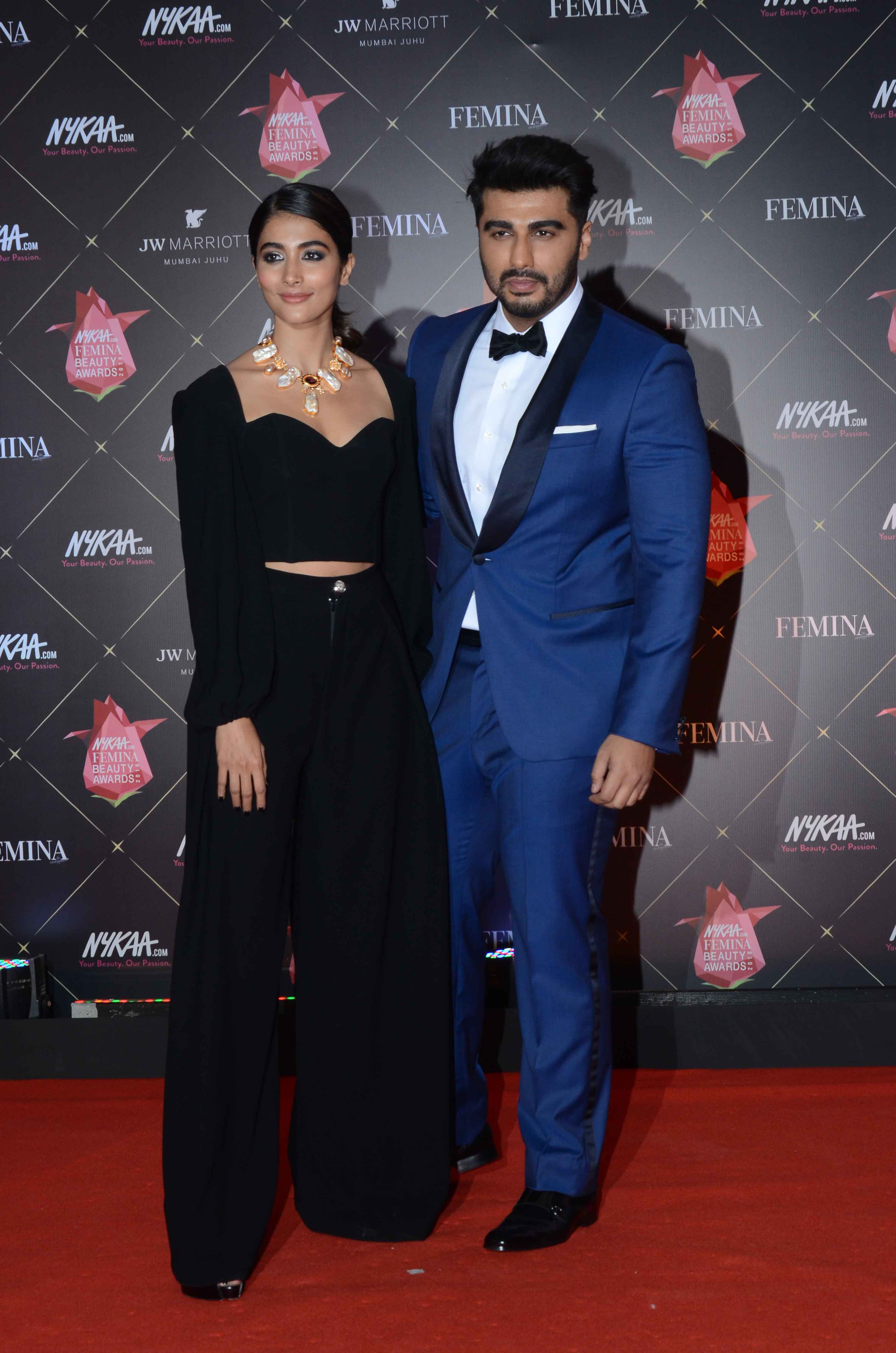 Pooja Hegde and Arjun Kapoor