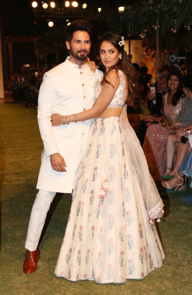 Shahid and Mira Kapoor
