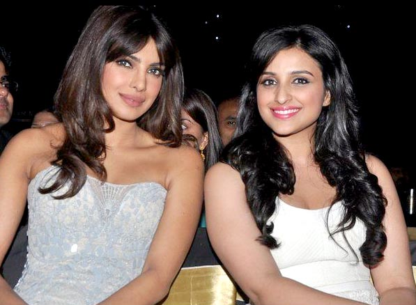 Priyanka and Parineeti Chopra.