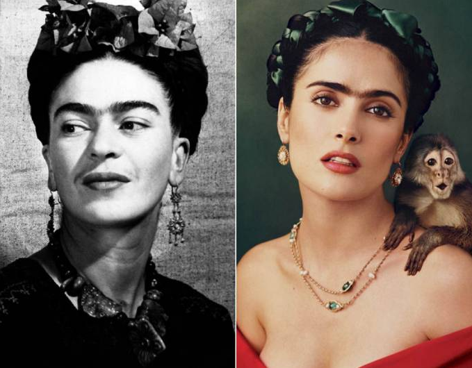 6. Salma Hayek as Frida Kahlo
