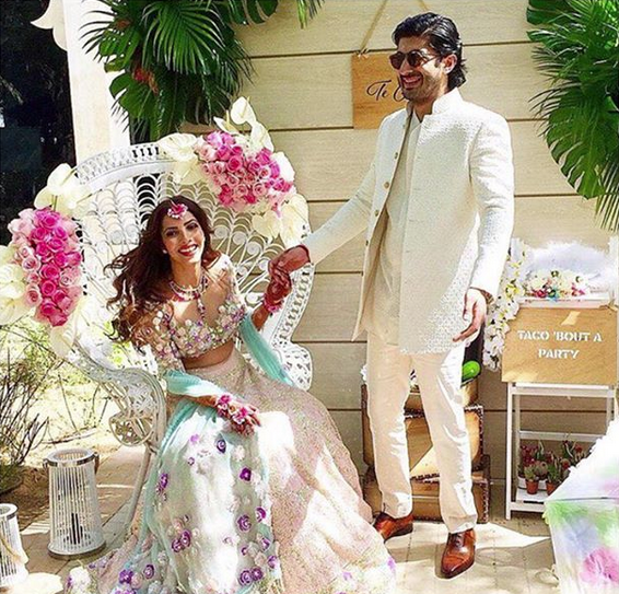 Check Out Pictures From This Star Studded Bollywood Wedding In Dubai
