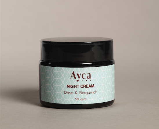 Ayca Night Cream Rose & Bergamot