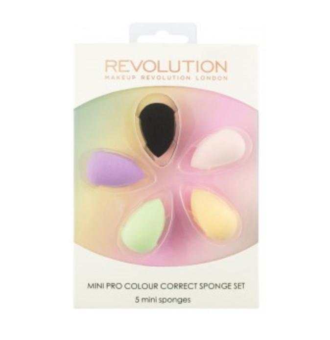 Makeup Revolution Mini Pro Colour Correct Sponge Set - Pack Of 5