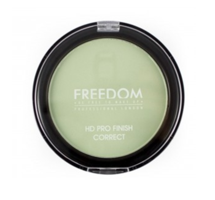 Freedom HD Pro Finish Correct Pressed Powder - Mint Green