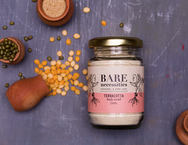 Bare Necessities Terracotta Body Scrub