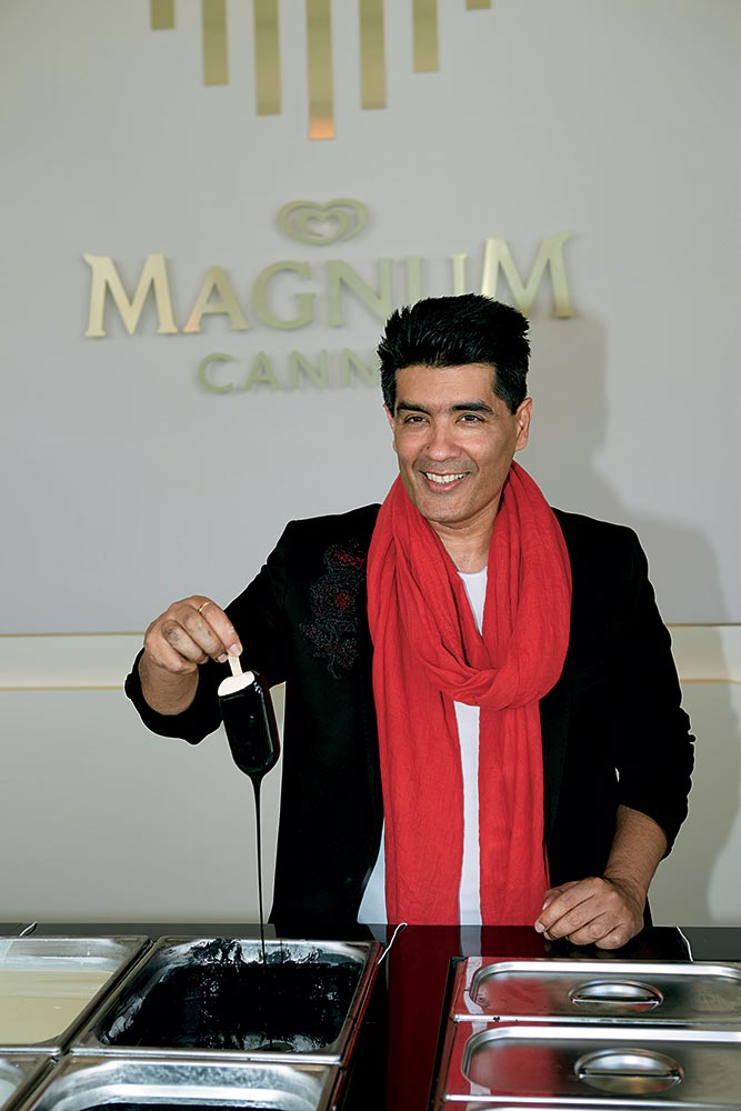 magnum and manish malhotra