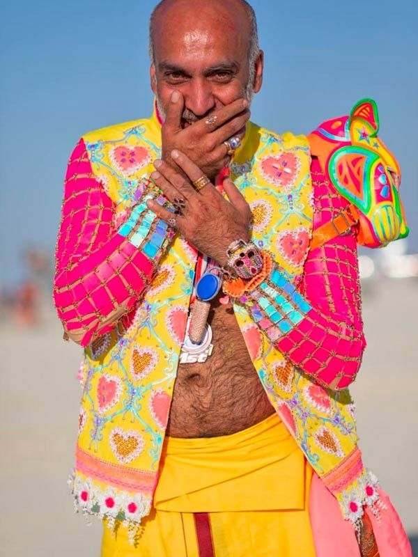 Fashion Designer Manish Arora S Love Affair With Burning Man Continues Grazia India