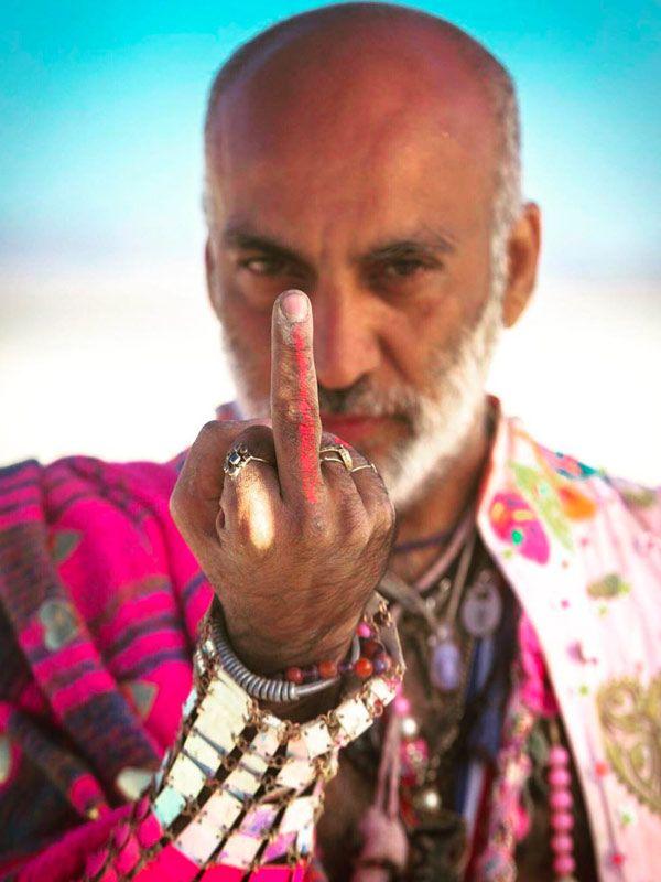 Manish Arora at Burning Man 2018