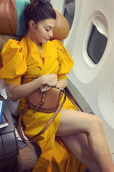 Jacqueline Fernandez Yellow