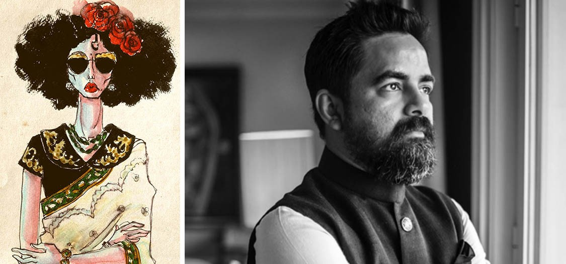 46eafccfd09 Sabyasachi Mukherjee On His Love Affair With The Sari