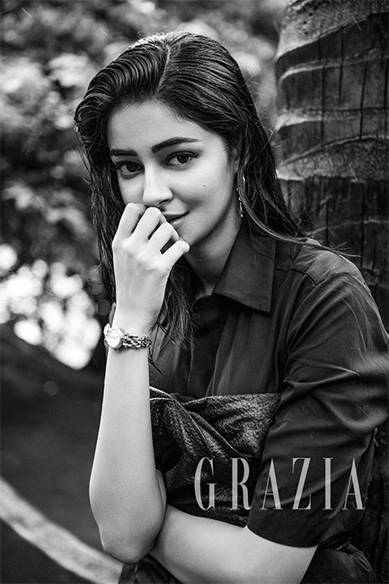 Ananya Panday On Grazia Cover