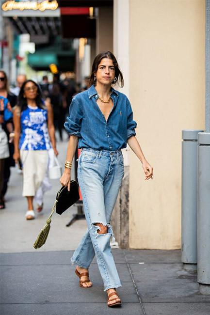 Leandra Medine Cohen at New York Fashion Week