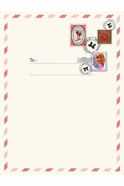 Letters template