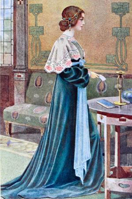 Liberty style dressing in 1905