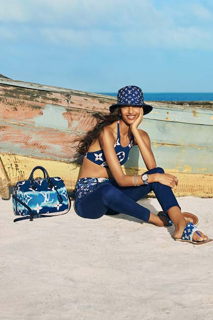 You'll be daydreaming of the beach with Louis vuitton's Escale collection Photographer : Hill + Aubrey Fashion : Marie – Amélie Sauvé