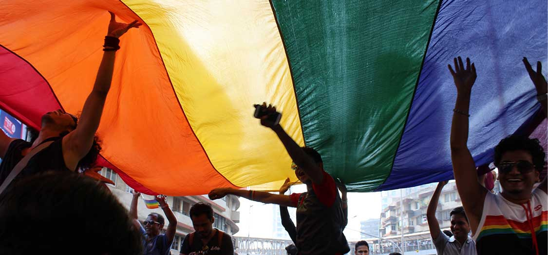 Queer Azaadi Pride March in Mumbai