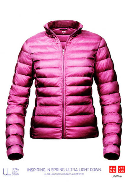 Uniqlo's signature down jacket