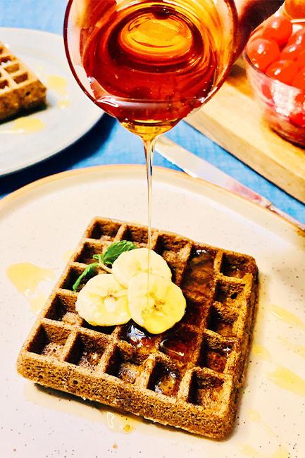 ragi waffles