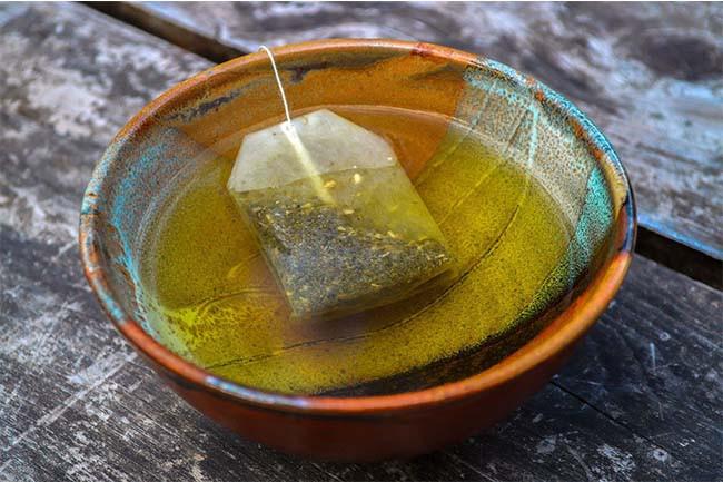 Dark Circles Remedy Cold Tea Bag Compress