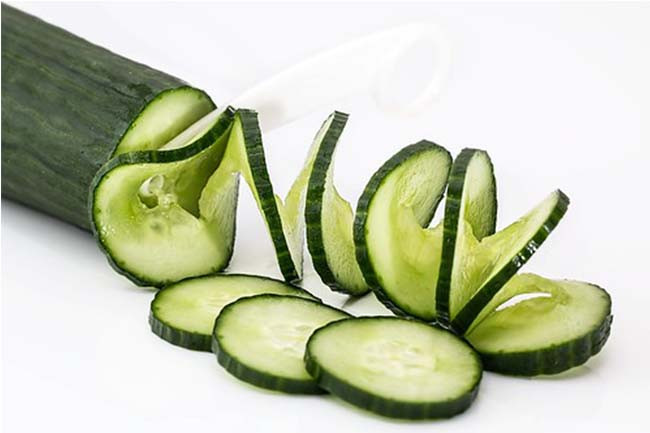 Dark Circles Remedy Cucumber Compress