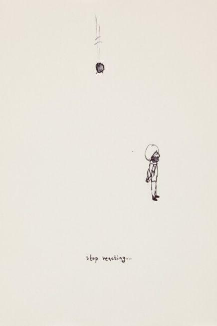 'Line Drawings', 2014 by Gagan Singh